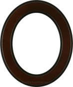 Bianca Rosewood Oval Picture Frame