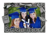 Diploma and Cap Graduation Frame