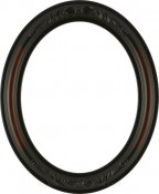 Chloe Rosewood Oval Picture Frame