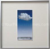 Cirrus Silver Square Picture Frame
