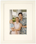 Tribeca Archival White Picture Frame