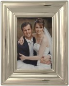 Silver Elegance Wedding Picture Frame