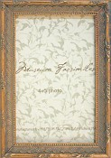 Amelia Gold Leaf Picture Frame