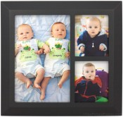 3 Opening Classic Black Collage Frame