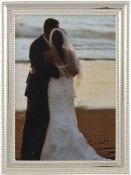 Silver Bead Picture Frame