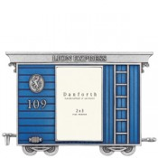 Freight Car Train Frame in Solid Pewter